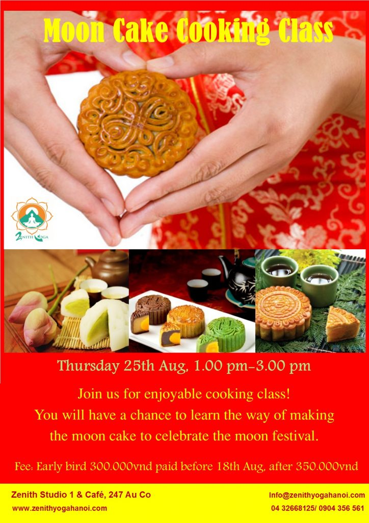 Moon Cake Cooking Class